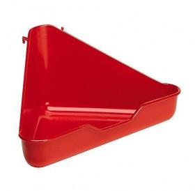 Ferplast L 370 /пластмасова тоалетна за порче/-27x27x17см