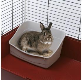 Ferplast L 305 /пластмасова тоалетна за  дребни животни/-37x27x18,5см