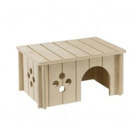 Ferplast SIN 4645 /дървена къщичка за морско свинче/-26x17,3x13см