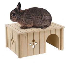 Ferplast SIN 4646 /дървена къщичка за зайче/-33x23,6x16см