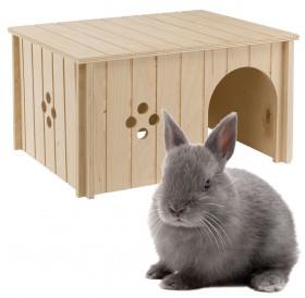 Ferplast SIN 4647 /дървена къщичка за зайче/-37x27,7x20см