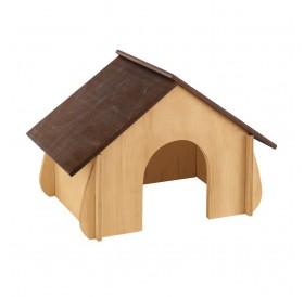 Ferplast SIN 4650 /дървена къщичка за зайче/-41x23,6x27,4см