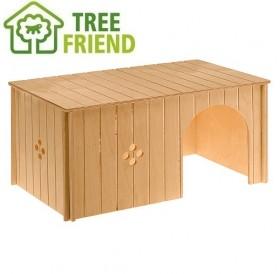 Ferplast SIN Maxi /дървена къщичка за зайче/-52x31x26см
