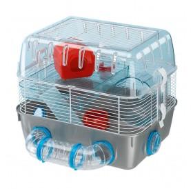 Ferplast Combi 1 Fun /напълно оборудвана клетка за хамстери на два етажа/-40,5x29,5x32,5см