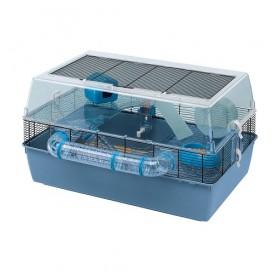 Ferplast Duna Fun Large /напълно оборудвана клетка за хамстери/-71,5x46x41см