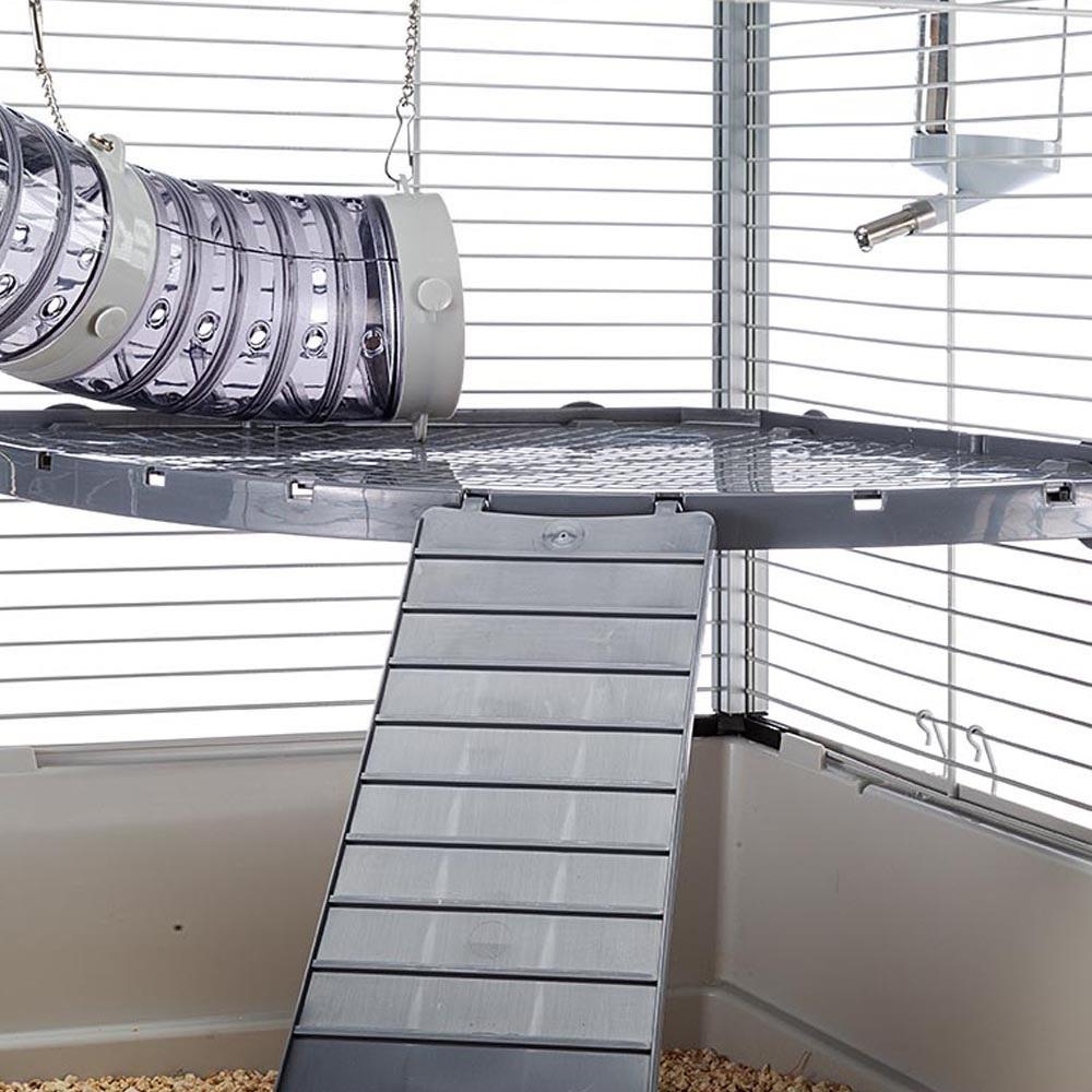 Ferplast Furet Tower /напълно оборудвана клетка за порчета на две нива/-75x80x161см