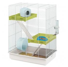 Ferplast Hamster Tris /напълно оборудвана клетка за хамстер на три нива/-46x29x58см