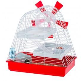 Ferplast Magic Mill /напълно оборудвана клетка за хамстери/-46x29,5x46,5см