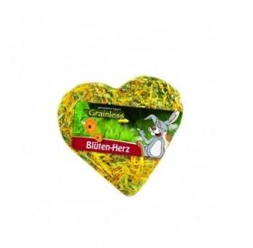 JR Farm Grainless Heart with Petals /лакомство за гризачи сърце с венчелистчета/-90гр
