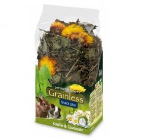 JR Farm Grainless Plus Camomile & Dandelion /допълваща храна за гризачи с лайка и глухарче/-100гр