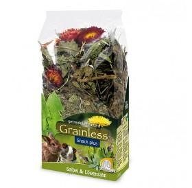 JR Farm Grainless Plus Sage & Dandelion /допълваща храна за гризачи с градински чай и глухарче/-100гр