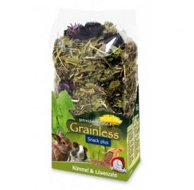 JR Farm Grainless Plus Caraway & Dandelion /допълваща храна за гризачи с кимион и глухарче/-100гр