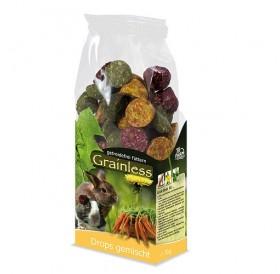 JR Farm Grainless Mixed Drops /допълваща храна за гризачи микс/-140гр
