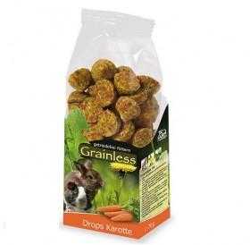 JR Farm Grainless Carrot Drops /допълваща храна за гризачи с моркови/-140гр