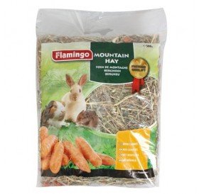 Karlie Flamingo Mountain Hay with Carrots /планинско сено с моркови/-500гр