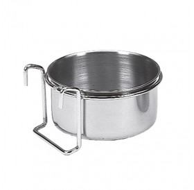 Nobby Stainless Steel Bowl With Hook 150ml /Метална Купичка С Държач 150мл/-Ø7см