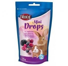 Trixie Mini Drops Fruit /лакомства за гризачи дропс горски плодове/-75гр