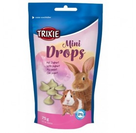 Trixie Mini Drops With Yoghurt /витаминен дропс за гризачи с мляко/-75гр