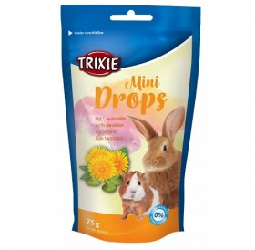 Trixie Mini Drops With Dandelion /витаминен дропс за гризачи с глухарче/-75гр