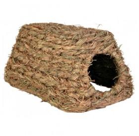 Trixie Grass Hous /Къщичка Направена От Трева За Хамстери И Други Малки Гризачи/-18x13x28см