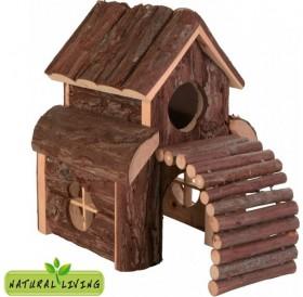 Trixie Finn House /дървена къщичка за хамстери и други малки гризачи/-13x20x20см
