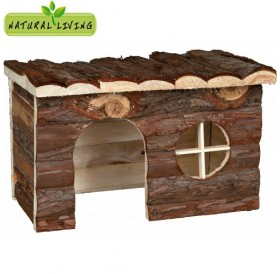 Trixie Jerrik House /дървена къщичка за морско свинче и чинчила/-28x16x18см