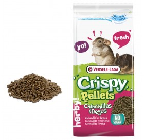Versele-Laga Crispy Pellets Chinchillas&Degus /гранулирана храна за чинчила и дегу/-1кг