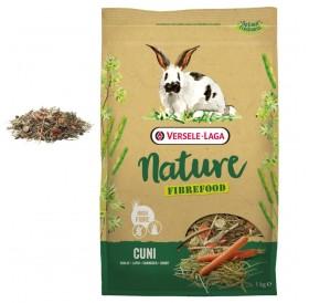 Versele-Laga Nature Fibrefood Cuni /пълноценна храна за капризни мини зайчета/-1кг