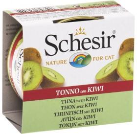 Schesir Tuna with Kiwi /храна за израснали котки с риба тон и киви/-75гр