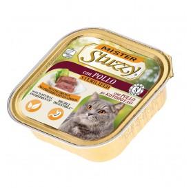 Mister Stuzzy Cat Sterilized with Chicken /храна за кастрирани котки пастет с пилешко месо/-6х100гр