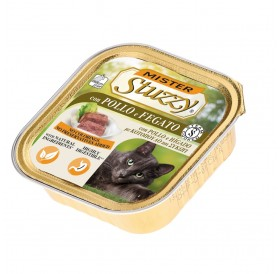 Mister Stuzzy Cat with Chicken and Liver /храна за израснали котки пастет с пиле и дроб/-6х100гр