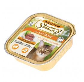 Mister Stuzzy Cat with Salmon /храна за израснали котки пастет със сьомга/-6х100гр