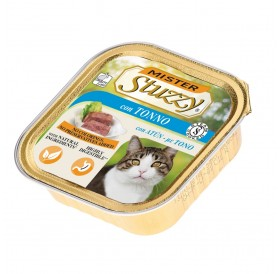 Mister Stuzzy Cat with Tuna /храна за израснали котки пастет с риба тон/-6х100гр