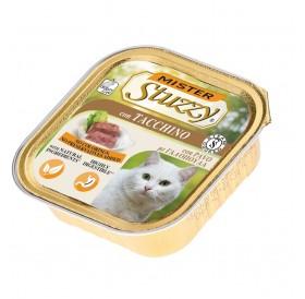 Mister Stuzzy Cat with Turkey /храна за израснали котки пастет с пуйка/-6х100гр