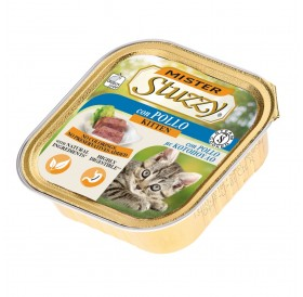 Mister Stuzzy Kitten with Chicken /храна за подрастващи котенца пастет с пиле/-6х100гр