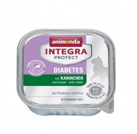 Animonda Integra Protect Diabets Adult with Rabbit /профилактична храна за котки със захарен диабет/-100гр