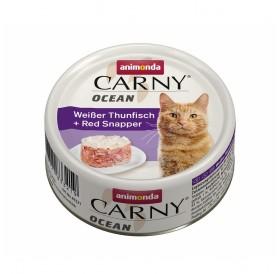 Animonda Carny Ocean Adult White Tuna&Red Snapper /деликатесна храна за израснали котки с бяла риба тон и червен снапер/-80гр