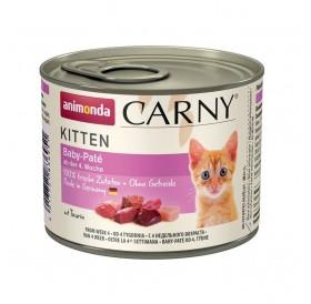 Animonda Carny Kitten Baby-Pate /храна за бебета котенца с пилешко и говеждо месо/-200гр