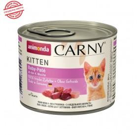 Animonda Carny Kitten Baby-Pate /храна за бебета котенца с пилешко и говеждо месо/-6x200гр