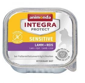 Animonda Integra Protect Sensetive Adult with Lamb+Rice /профилактична храна за котки с чувствителен стомах с агнешко месо и ориз/-100гр