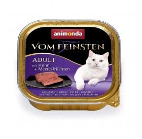 Animonda Vom Feinsten Adult Chicken and Seafood /пастет за котки над 12 месеца с пиле и морски деликатеси/-100гр