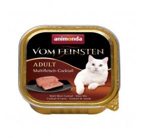Animonda Vom Feinsten Adult Multi-meat Cocktail /пастет за котки над 12 месеца мултикоктейл/-100гр