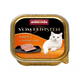 Animonda Vom Feinsten Adult Poultry and Calf /пастет за котки над 12месеца с птиче и телешко/-100гр