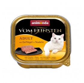 Animonda Vom Feinsten Adult Poultry and Noodles /пастет за котки над 12месеца с птиче и спагети/-100гр