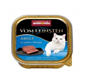 Animonda Vom Feinsten Adult Salmon and Shrimp /пастет за котки над 12 месеца със сьомга и скариди/-100гр