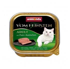 Animonda Vom Feinsten Adult Turkey and Rabbit /пастет за котки над 12месеца с пуйка и заек/-100гр