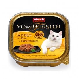 Animonda Vom Feinsten Adult Turkey in Tomato Sauce /хапки за котки над 12 месеца с пуйка в доматен сос/-100гр