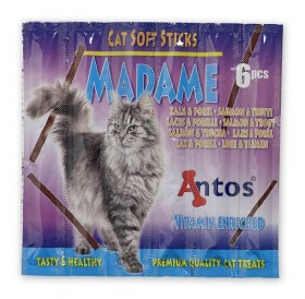 Antos Cat Soft Sticks Madame Salmon&Trout /сьомга и пъстърва/-6бр