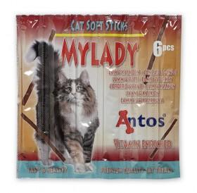 Antos Cat Soft Sticks Mylady Lamb&Turkey /пръчици с агне и пуйка/-6бр
