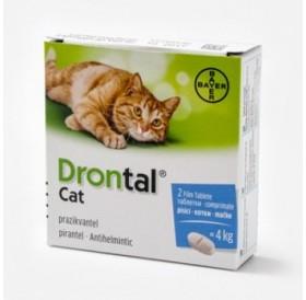 Bayer Drontal Cat /Таблетки За Обезпаразитяване От Вътрешни Паразити При Котки/-2бр
